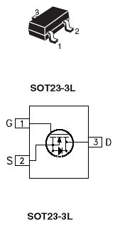 MOSFET - 2N7002 SMD