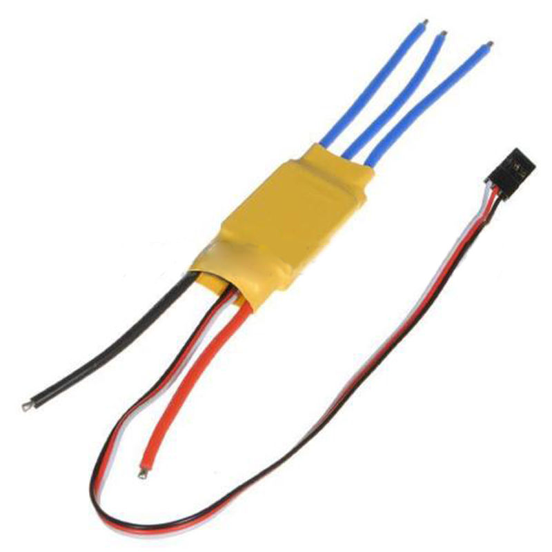 30A Brushless Motor Speed Controller BEC 2A