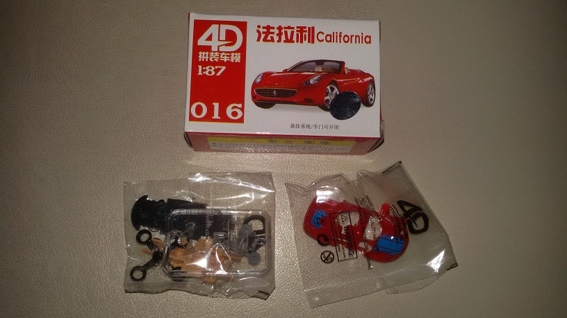 CALIFORNIA HO 1/87 Kit