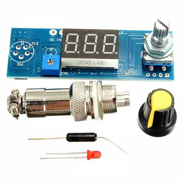Digital Soldering Iron Station Temperature Controller Board for HAKKO T12