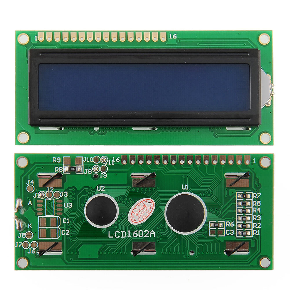 LCD Display Character Module 16x2 Blue Backlight