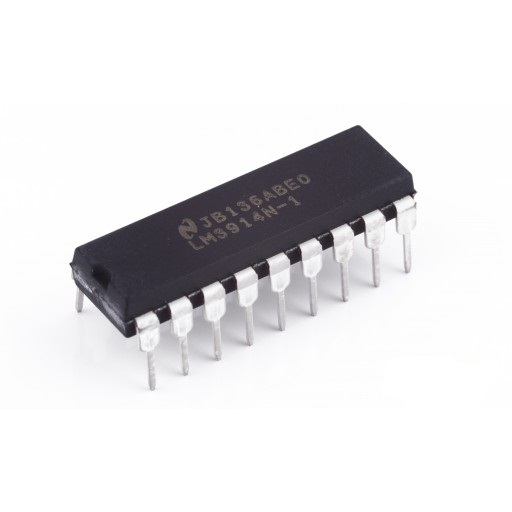 LM3915N-1 DIP-18 LED Bar Driver