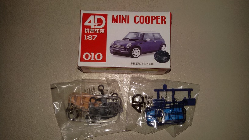 MINI COOPER HO 1/87 Kit